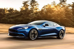 Aston Martin Vanquish S Unveiled As 600-HP Super GT