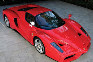 Fashion Mogul Tommy Hilfiger Flipping His Ferrari Enzo