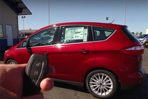 The Ford C-Max Isn't As Dorky As It Looks
