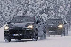 The New Porsche Cayenne Looks To Be Shedding Weight For Summer