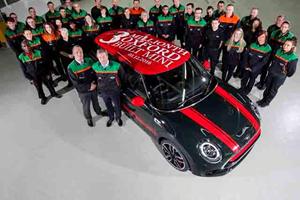 Mini Reaches A Milestone By Building Its Three Millionth Car