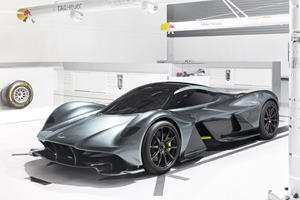 The Top Speed Of Aston Martin's AM-RB 001 Hypercar Is Insane