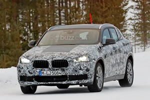 The BMW X2 Concept Comes Alive To Drift Around In The Snow