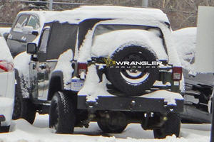 UPDATE: Two-Door Jeep Wrangler Pickup Is Actually A Military Vehicle