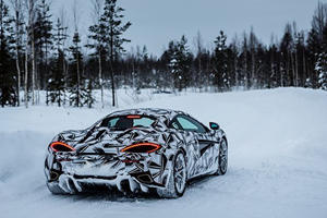 A McLaren 570S With Studded Tires Is The Perfect Winter Daily Driver
