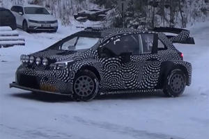 This 380-HP Toyota Yaris Is Built To Catch Air And Eat Corners For Lunch