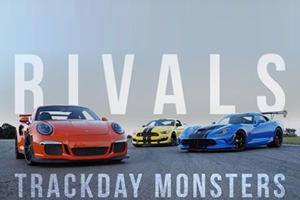 GT350R Vs. Viper ACR Vs. 911 GT3 RS: Which Is The Wildest Track Animal?