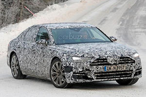We Caught The 2018 Audi A8 Looking Like It Already Needs A Refresh
