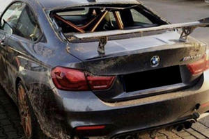 Looks Like There's One Less BMW M4 GTS Left In The World
