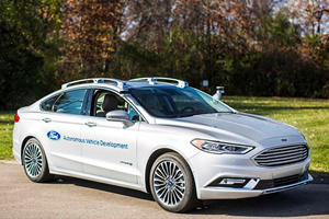 Ford Is Out To Beat Uber At Its Own Game With New Self-Driving Fusions