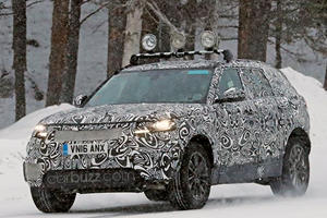 Land Rover Testing Range Rover Sport Coupe SVR To Murk Mercedes-AMG GLC
