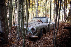This Aston Martin DB4 Was Left To Rust In The Woods For Nearly 50 Years