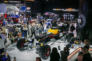 Chevy Just Built A Full-Size Batmobile Out Of Lego Bricks