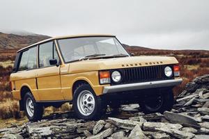 Land Rover Resurrects The Original Range Rover, Yours For $170,000