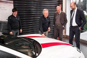 Horacio Pagani Adds Porsche 911 R and Ferrari F12 TDF To His Collection