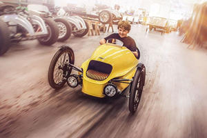 Morgan Will Now Make A Miniature Three-Wheeler For Your Kids