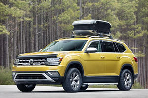 The VW Atlas Weekend Edition Wants To Be America's Favorite Camping Car