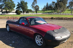 Someone Turned A Mazda MX-5 Into A Truck And It's Not Terrible