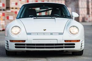 A Porsche 959 Sport Sold At Auction For An Absurd Amount