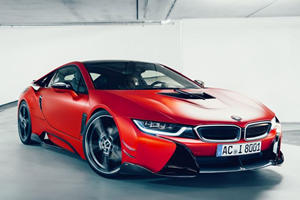 AC Schnitzer Unleashes Stunning Carbon-Fiber BMW i8