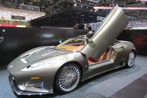 The Spectacular Spyker C8 Preliator Will Lose Its Roof At Geneva