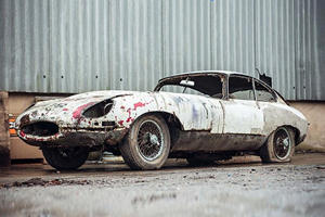 Would You Pay This Much For A Decayed Jaguar E-Type?