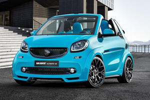The Brabus Ultimate 125 Is A Smart Car On Steroids
