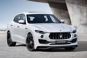 The Sleek Maserati Levante Receives Sporty Makeover