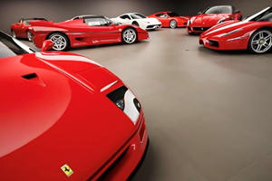 Secret Garage In The Swiss Mountains Houses Incredible Ferrari Collection