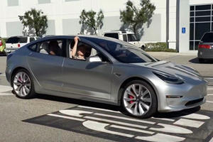 Tesla Model 3 Spotted In The Wild And Looks Much Better In Person