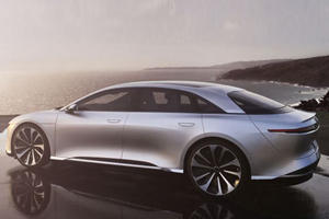 Lucid Motors Air Dares Tesla With New EV's $52,500 Price Tag