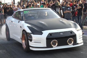 This Insane Nissan GT-R Just Clocked A 6-Second Quarter Mile