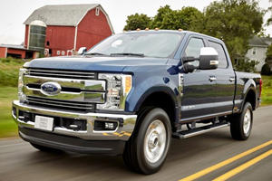 Turns Out The Ford F-250 Can Roll Away With The Transmission In Park