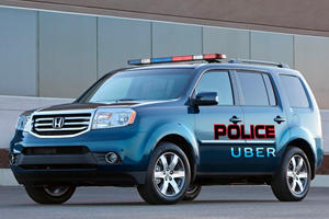 Crazy Uber Driver Arrested For Having Fake Police Badge And Gun