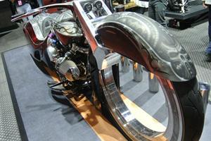 The Badass Harley-Davidson Road King Rides On Hubless Wheels