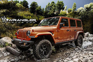 2018 Jeep Wrangler Will Likely Come With The Renegade's MySky Roof