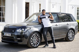 Heavyweight Champion Anthony Joshua Collects Bespoke Range Rover