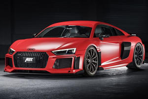 Audi R8 Gets More Power, Less Weight And Better Looks