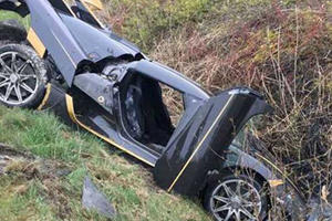 Customer Weeps As Koenigsegg Agera RS Crashes Ahead Of Delivery