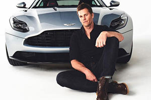 Tom Brady Just Became The Newest Spokesperson For Aston Martin