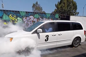 Can You Use Cruise Control During A Burnout In A Dodge Grand Caravan?