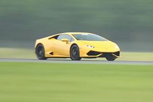 Lamborghini Huracan Smashes Half-Mile World Record At 250 MPH