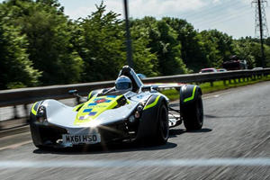 BAC Mono Police Car Sent To Isle Of Man Where Speed Limits Don't Apply