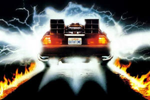 DeLorean Driver Gets Caught Speeding At 88 MPH