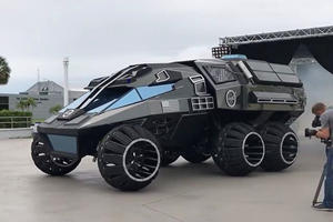 NASA's Mars Rover Concept Vehicle Has Otherworldly Abilities