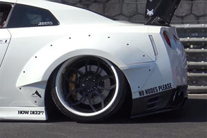 This Is What An Adult Film Star's Modified Nissan GT-R Looks Like