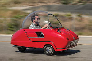 This Quirky Microcar Looks Like Something Out Of The Jetsons