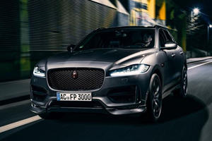 Jaguar F-Pace Receives Sinister Makeover From Naughty Germans