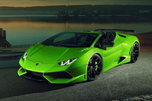 Lamborghini Huracan Spyder Taken To The Extreme With 860-HP Widebody