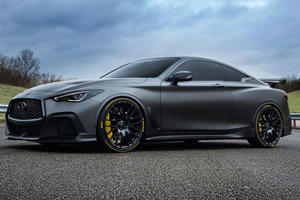 Pirelli Building Bespoke Tires For The F1-Inspired Infiniti Project Black S